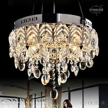 2017 charming home decoration crystal chandeliers for Canada ETL84265