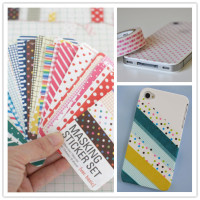 self adhesive paper craft, washi adhesive sheet sticker