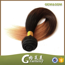 Hot new products for 2015 wholesale top quality grade 8a straight synthetic ombre marley hair braid