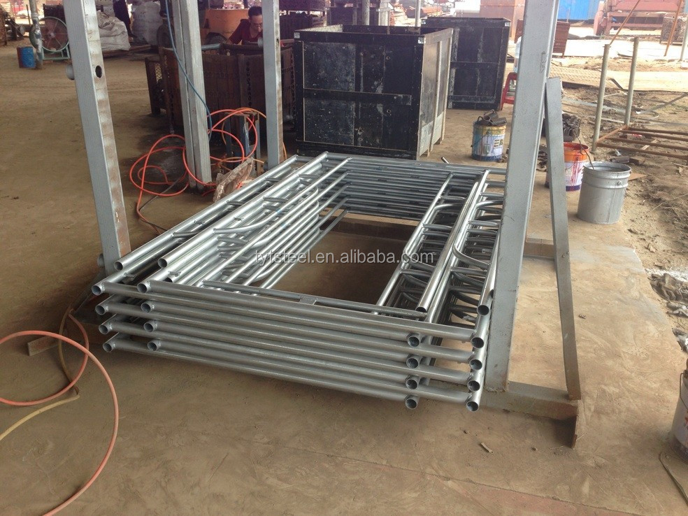 Steel building space frame parts tubular steel frame