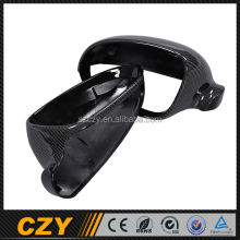Racing Carbon R32 Car Back Mirror Cover for VW Golf V GTI MK5 R32