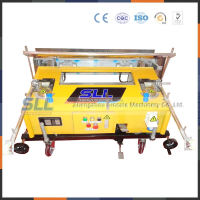 Simple structure adhesive spray render machine
