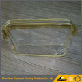Promotional new design recycled clear makeup bags waterproof pvc cosmetic bag with zipper