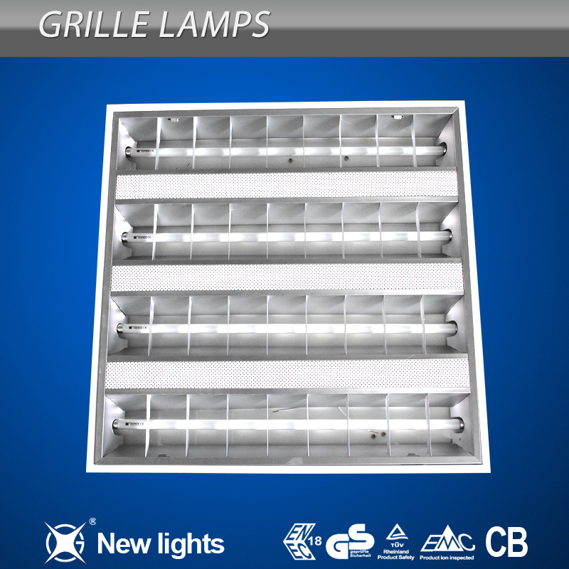 Energy saving Recessed T5 Grid Lamp 4*14W 3*14W
