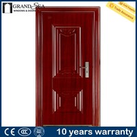 Elegant design entrance blower door for home