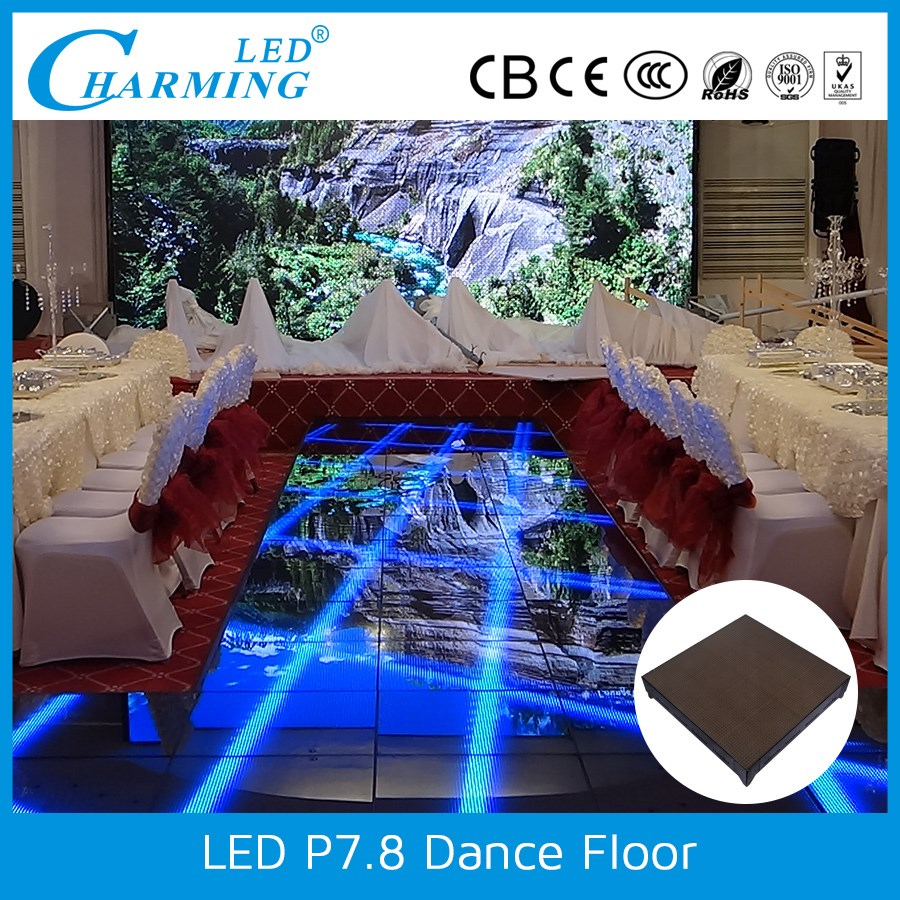 Portable night club light up cheap used dance floors for sale