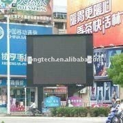 CE RoHS 6X5m P10mm tv full color outdoor electronic wall billboard