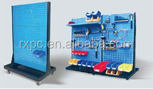 plastic tool storage bin fit in metal shelving systems
