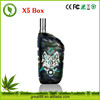 2016 Greentime manufacture vape mods X5 box adjustable voltage bettery e cigarette with magnet connector