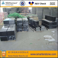 Top Quality Absolute Black Granite Polished Cube stone for landscaping stone on line