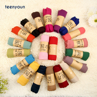 Women Acrylic Polyester Scarf Muslim Hijab Muffler Casual Long Plain Scarves Shawl Stole 22 candy colors