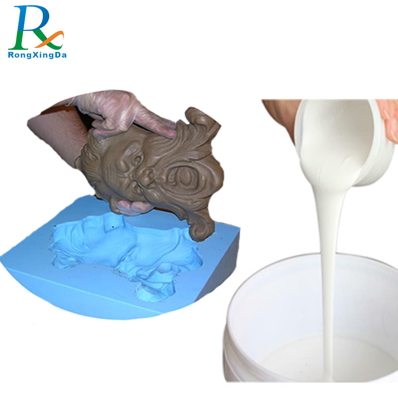 Price of liquid silicone rubber for gypsum sculptures mold making