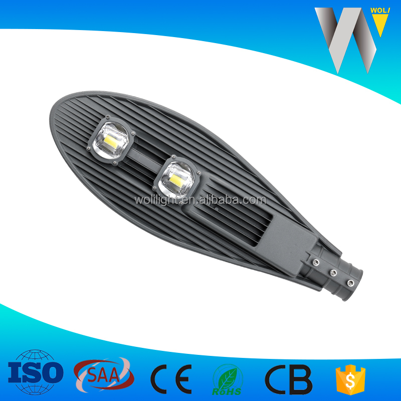 30w 50w 100w led street light 100watt IP66 CE RoHS philip chip 3 years warranty ISO9001
