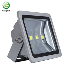 China IP65 Waterproof bridgelux aluminum 150w chargeable led flood light housing