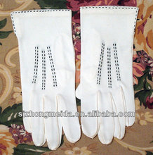 traffic police uniform cotton glove/white cotton gloves light