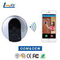 Video Doorbell Camera, Wifi Chime with Motion Sensor with Apple IOS Android APP