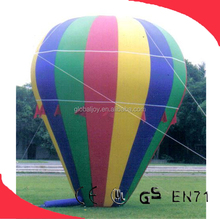 Hot sale promotional helium balloon price/PVC inflatable human balloon/inflatable light balloon wholesale price