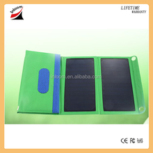 Factory Price Dual Output 5V 18V Sunpower foldable solar charger solar panel for mobile phone laptop