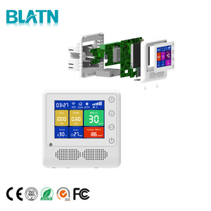 Hvac System Ventilation Exhaust Fan Speed Controller with indoor air quality display