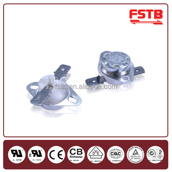 FSTB High Quality KSD301R Water Heater Thermostat Bimetal l60 Thermal Fuse Snap Circuit Auto Spare Parts