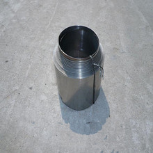 flexible spiral spring steel telescopic cover