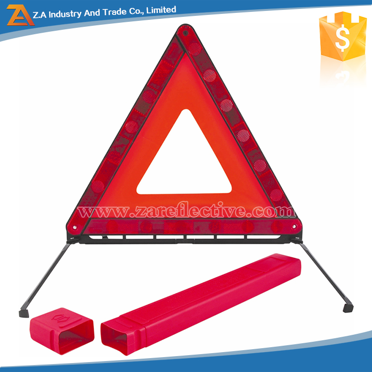 Emergency Roadside Kit,Folding Safety Barrier,On-Site Safety Warning Triangle Reflector