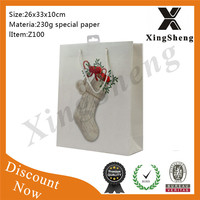Made in China low price hot sale Reusable low price best sale shopper paper bag