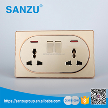High quailty China EXW price wall switch electrical plugs sockets socket for office and home