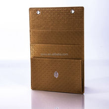 New Design PU Leather Laundry List Holder for hotel