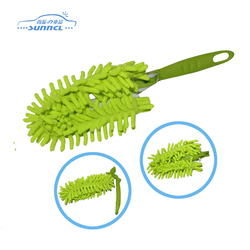 Chenille Car Microfiber Duster with Foldable Handle