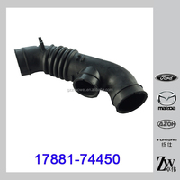 Toyota Carina Parts Rubber Air Filter Hose 17881-74450