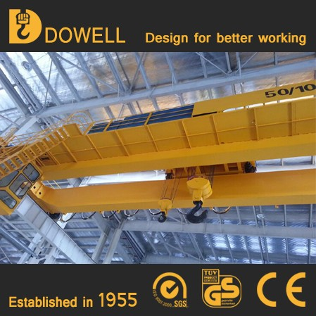 50 Years Experience On Manufacturing Service Double Beam 30 ton overhead crane