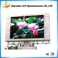 P10 free style led display! HD outdoor advertising led sign board/P10 korea remote triple color led screen