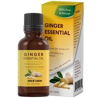 Hot Ginger essential oil - free hair conditioner hair and tail oil