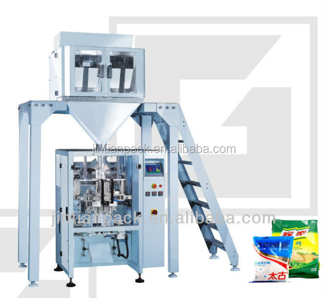 foshan factory price automatic candy / cereal / dry fruit /herbs weighing packing machine of JT-420S