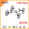 combination 2.4g rc cool quadcopter mini helicopter toy