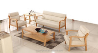 solid wood sofa set wooden sectional sofa leather sofa
