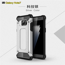 Factory New product cover for samsung galaxy note 7 edge armor cell phone case