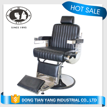 DTY China modern design beauty equipment royal red luxury hydraulic used salon barber chairs