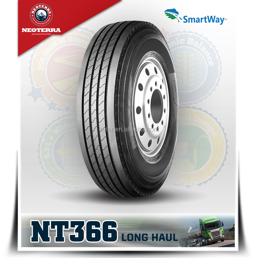NEOTERRA brand truck tyres 295/80r22.5 Steer and trailer tyre