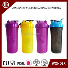 700ml personalized food grade plastic joyshaker ball bottle