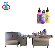 SG 2017 Hot-Sell Electronic Cigarettes/E-Liquid Filling Capping Machine CE Certificate