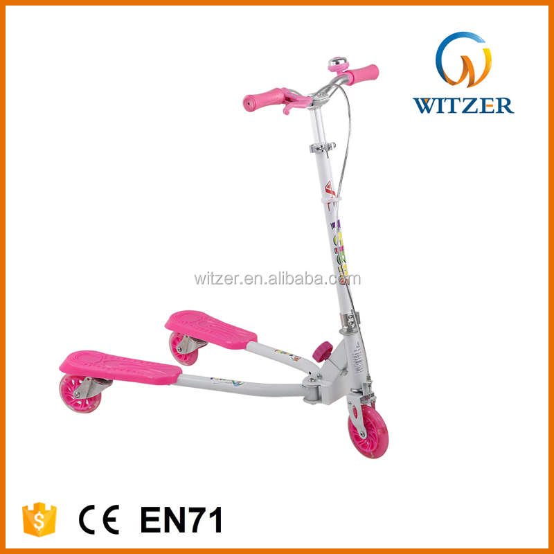 2017 new blue children toys 3 wheel scooter car
