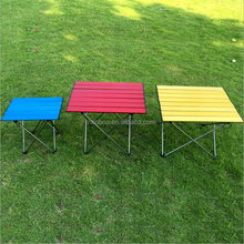 Chinese product custom foldable picnic beach BBQ camping travel outdoor table