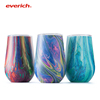 2018 Everich 350ml Wine Bottle Colored Wine Glass/Hotsale Edge Wine Glass Wholesale Travel Mugs