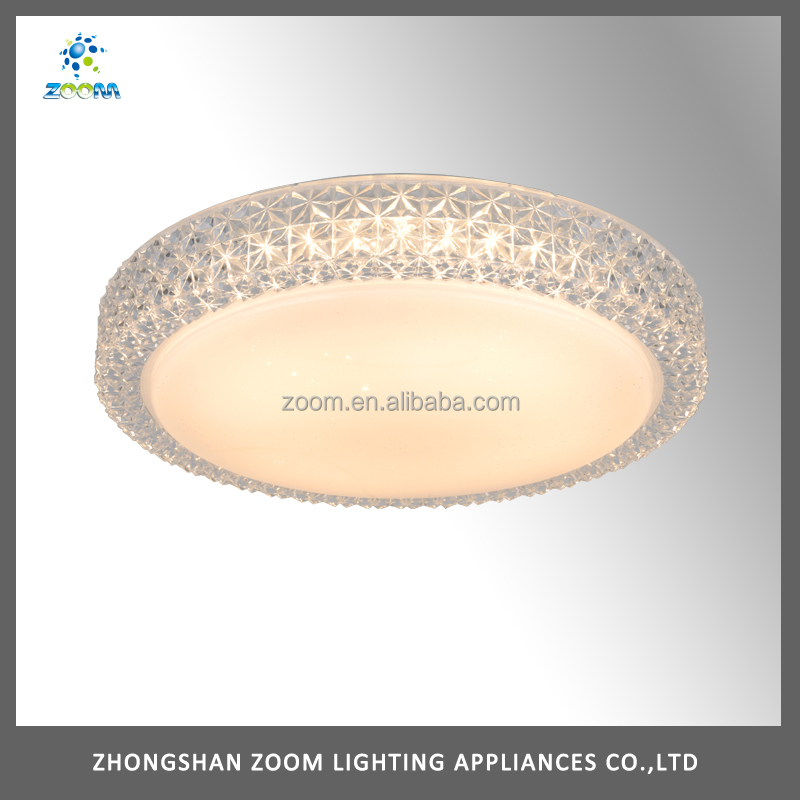 Brightness indoor used contemporary ceiling light with led lamp source