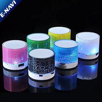 Portable Mini Blue tooth Speaker Wireless with FM Radio USB SD Card Reader