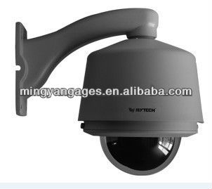 CCTV security 6 inch high speed dome PTZ camera Hikvision zoom module 540TVL 27X zoom optical
