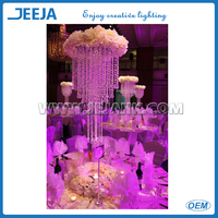 "Ring 6"" Diameter RGB Color Changing LED's wedding backdrop lights"