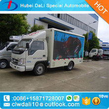 p6 outdoor advertising mobile van with LED screen lighting box